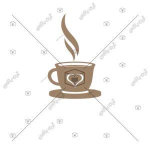 دانلود فایل psd لوگوی کافیشاپ اختصاصی