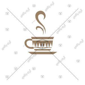 طرح آنلاین لوگوی فتوشاپی کافیشاپ