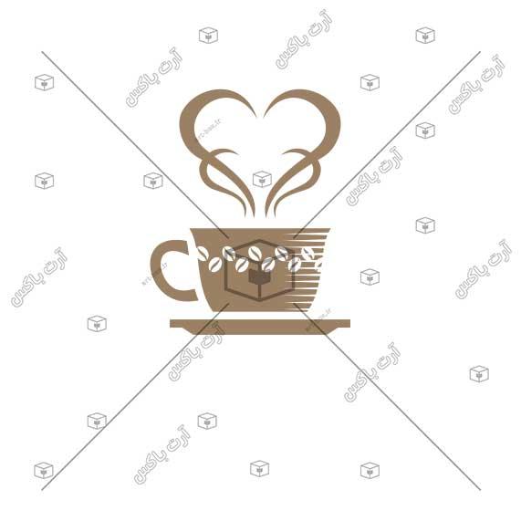 طرح برند و لوگوی اختصاصی کافیشاپ