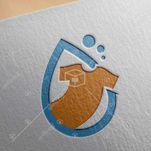 لوگو مناسب خدمات لباسشویی