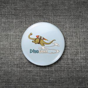 پیکسل با چهار طرح بامزه و جذاب دایناسوری | بسته ۴ تایی