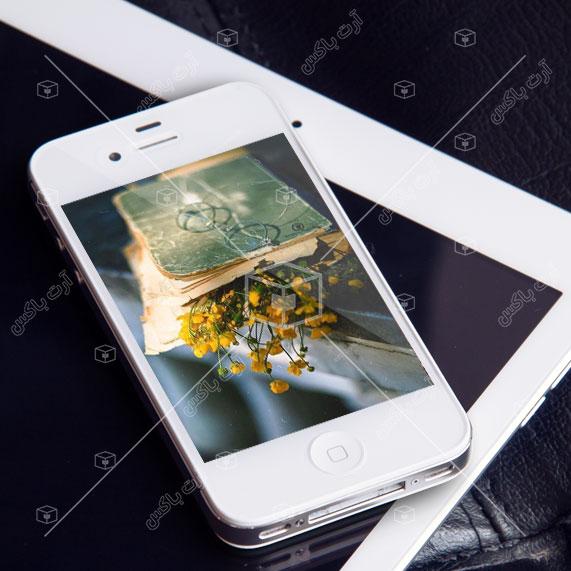 والپیپر گوشی | گل و کتاب